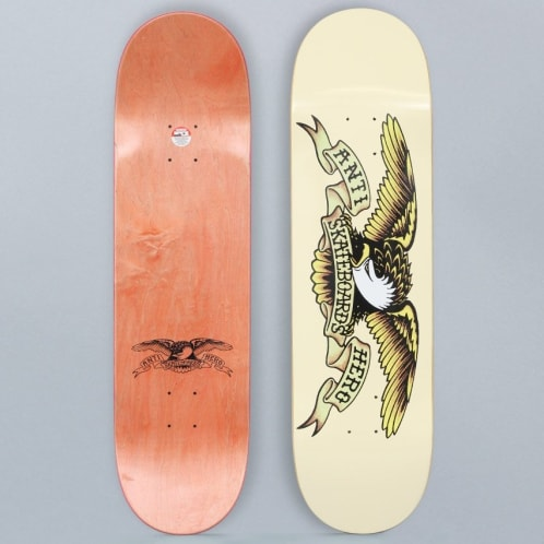 Anti Hero 8.62 Classic Eagle Skateboard Deck Cream