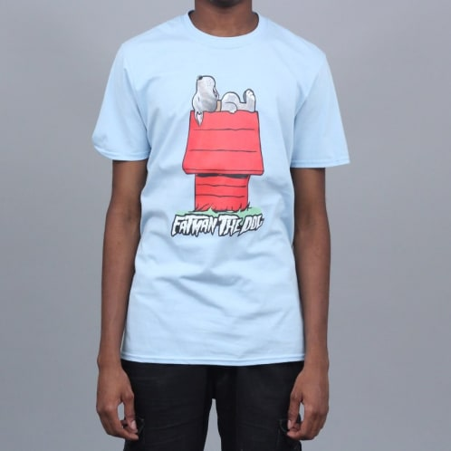 Fatman The Dog House T-Shirt Light Blue
