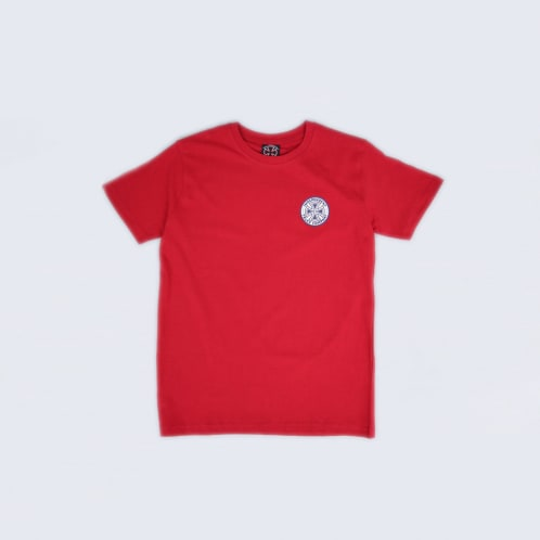 Independent Colours Youth T-Shirt Cardinal Red