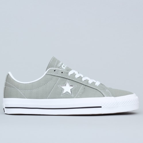 Converse One Star Pro OX Shoes Jade Stone / Black / White