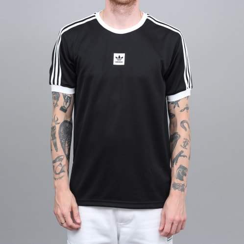 adidas Club Jersey T-Shirt Black / White