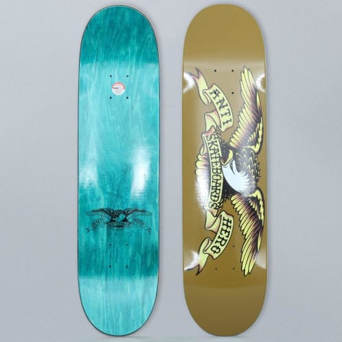 Anti Hero 8.06 Classic Eagle Skateboard Deck Brown