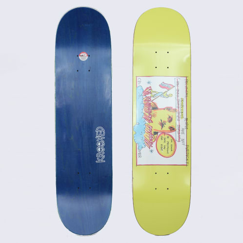 Krooked 8.06 Cromer Perfect Deck Lime