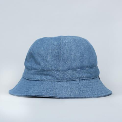 Brixton Banks II Bucket Hat Blue Washed Denim