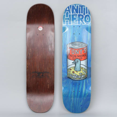 Anti Hero 8.5 Trujillo Pigeon Fried Skateboard Deck