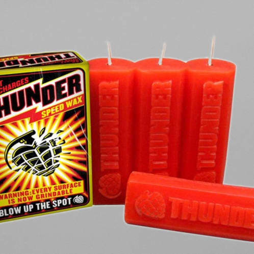Thunder Speed Red Wax