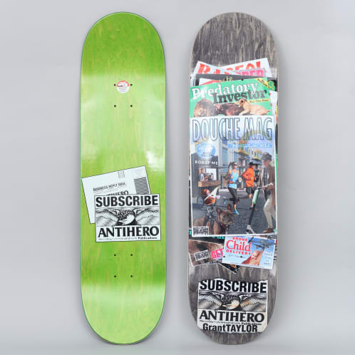 Anti Hero 8.5 Taylor Back Issues Skateboard Deck