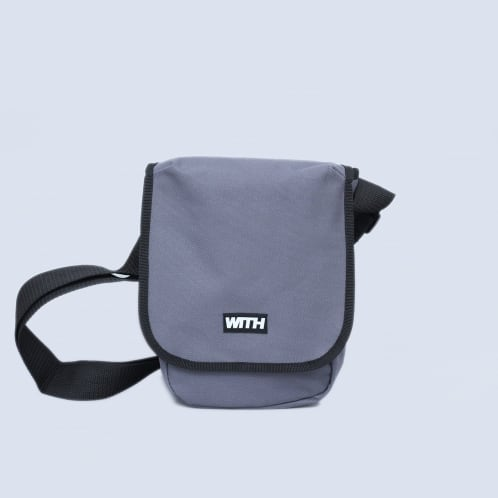WITH Pouch Bag Grey