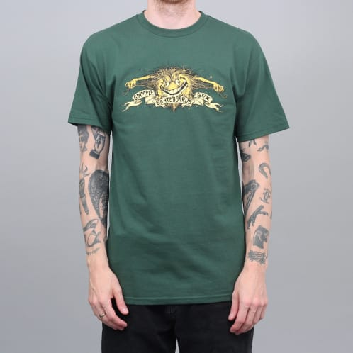 Anti Hero Grimple Stix Eagle T-Shirt Forest Green
