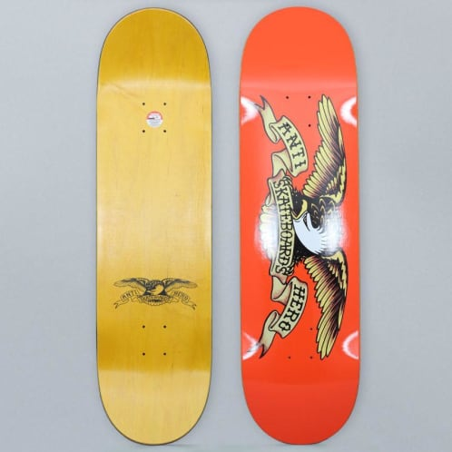 Anti Hero 9 Classic Eagle Skateboard Deck Orange