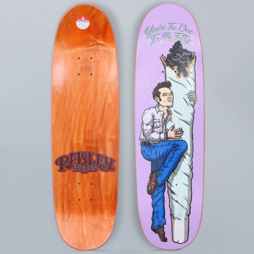 Paisley 8.875 You're The One For Me Skateboard Deck