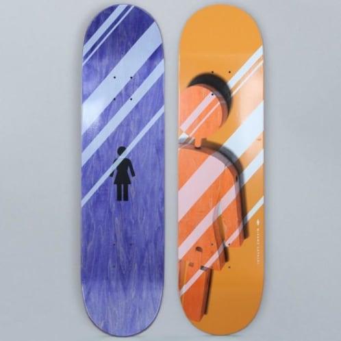 Girl 8.125 Mike Mo Shutter OG Skateboard Deck