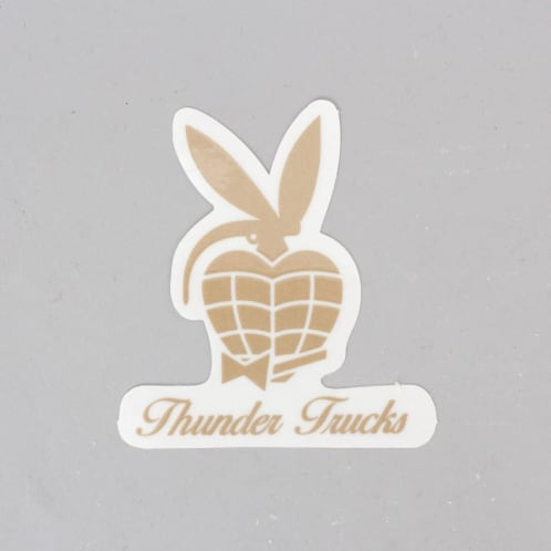 Thunder Players Club Sticker Gold / White
