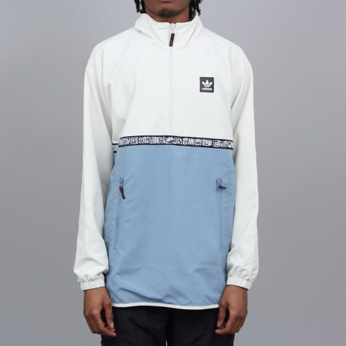 adidas Dakari Windbreaker Jacket Raw White / Raw Grey