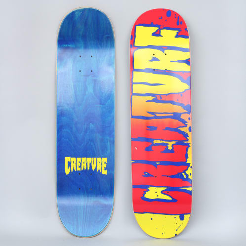 Creature 8.375 Logo Fade Hard Rock Maple Skateboard Deck
