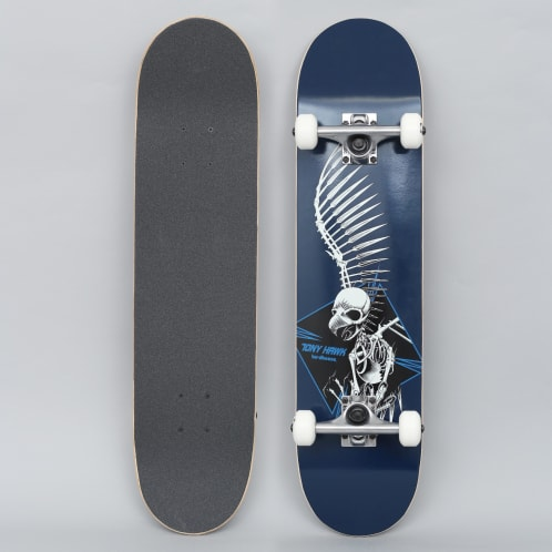 Birdhouse 7.5 Stage 1 Full Skull 2 Complete Skateboard Blue