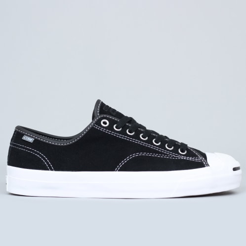 Converse Jack Purcell Pro OX Shoes Black / Black / White