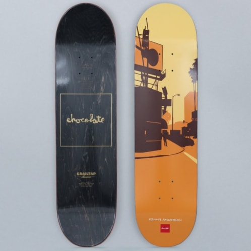 Chocolate 8.125 Kenny Anderson Crailtap Classic The City Skateboard Deck