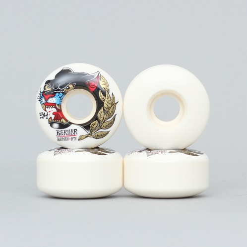 Bones 54mm Berger Panther STF Slims V3 Wheels White