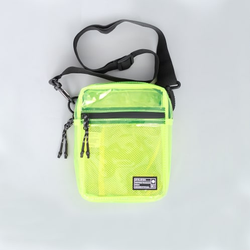 Hex Festival Crossbody Pouch Bag Yellow
