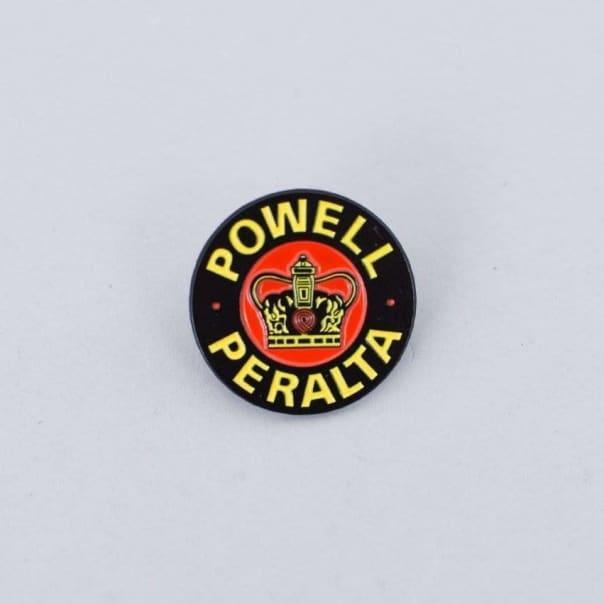 Powell Peralta Supreme Lapel Pin Badge