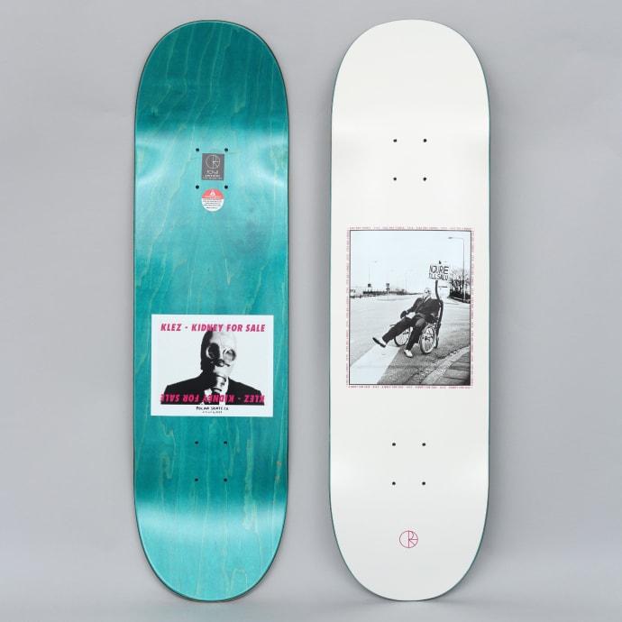 Polar 8.75 Klez Kidney For Sale Skateboard Deck Off White