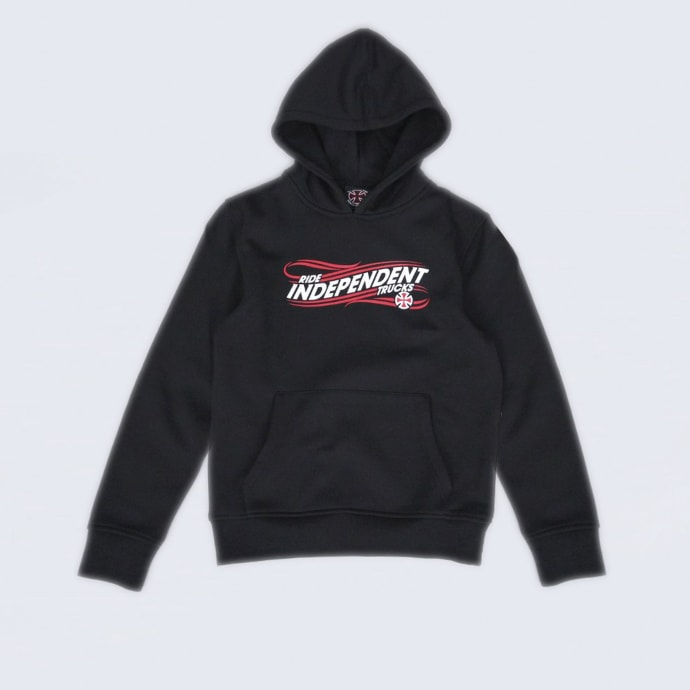Independent Whip Youth Hood Black