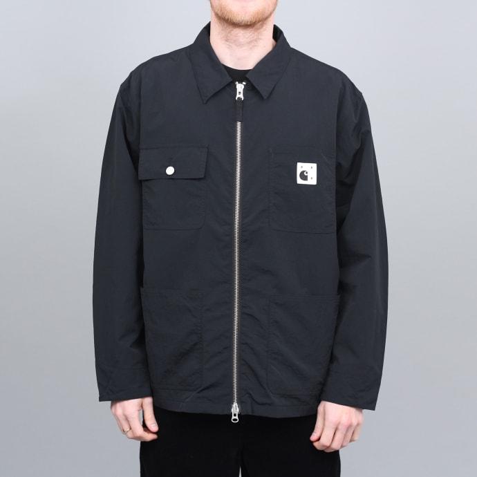 Pop Trading X Carhartt Michigan Chore Jacket Black