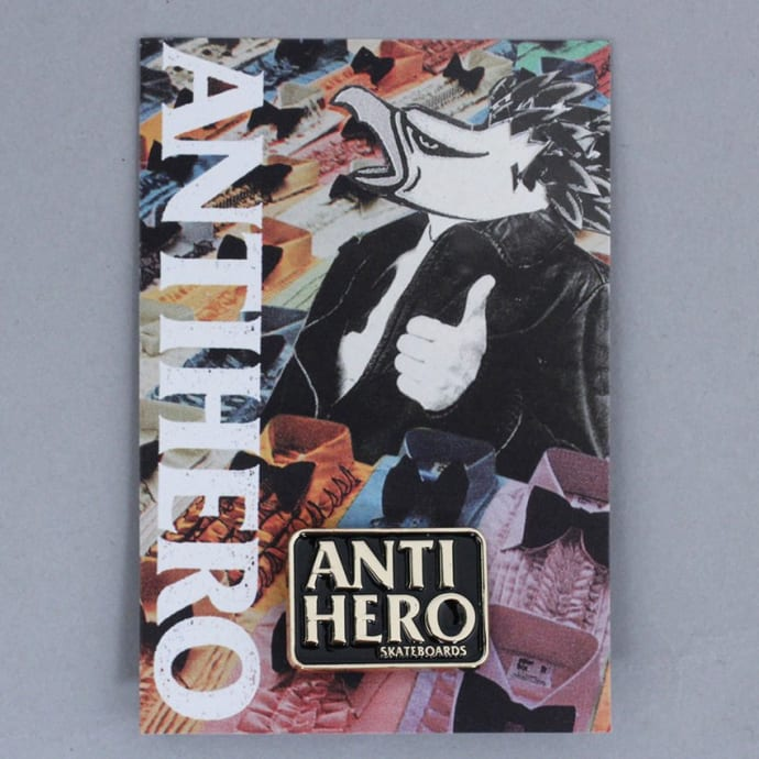 Anti Hero Blackhero Lapel Pin Gold / Black