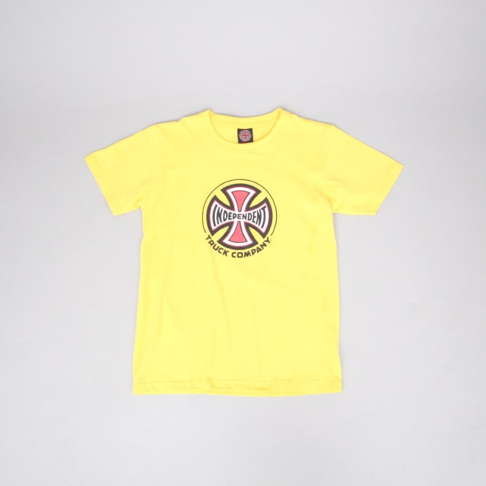 Independent Truck Co Youth T-Shirt Yellow