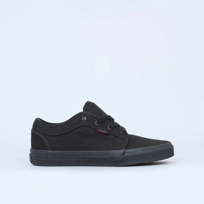 Vans Chukka Low Youth Shoes Blackout