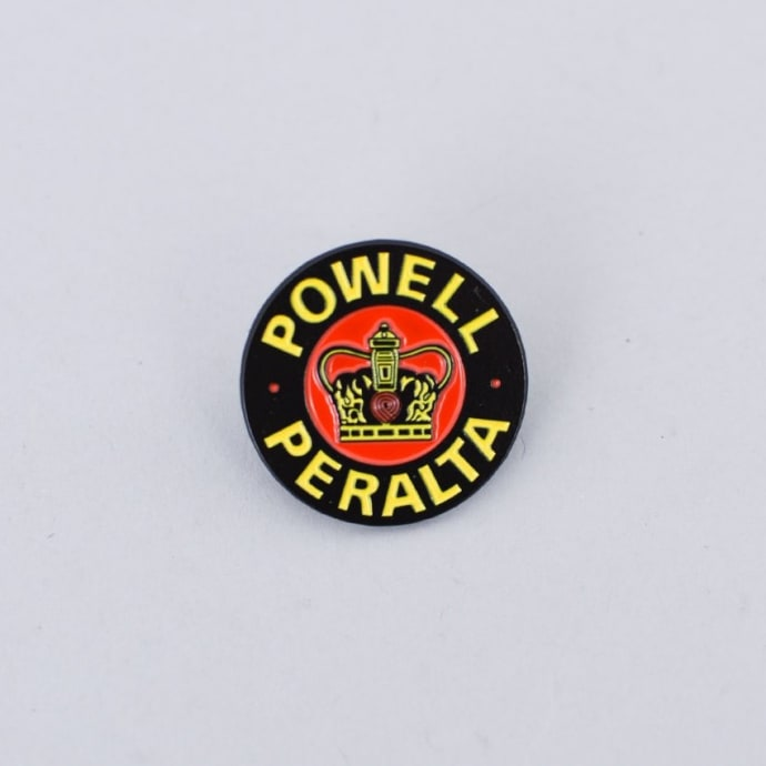Powell Peralta Supreme Lapel Pin Badge