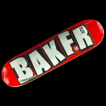 Baker Skateboards - Brand Logo White Deck