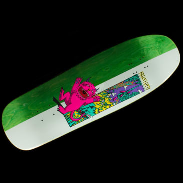 Welcome Skateboards - Wild Thing On Gaia Lotti Guest Deck (Green)