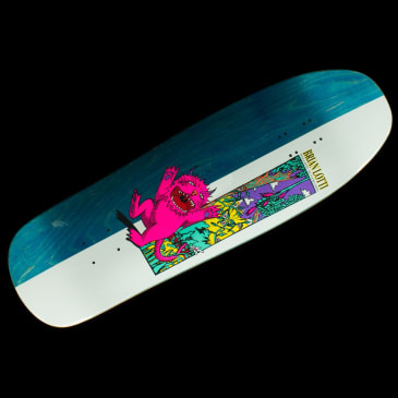 Welcome Skateboards - Wild Thing On Gaia Lotti Guest Deck (Blue)