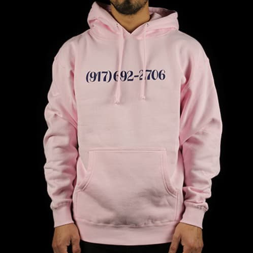 Call Me 917 - Dialtone Pullover Hoodie