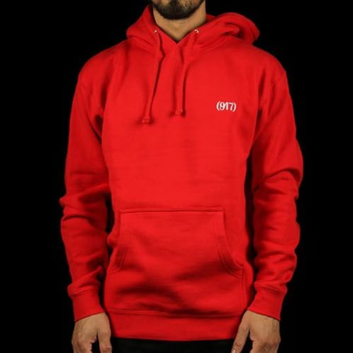 Call Me 917 - Area Code Pullover Hoodie