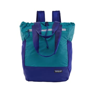 Patagonia Ultralight Black Hole Tote Bag Curacao Blue