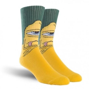 TOY MACHINE BORED SECT CRED SOCK GREEN