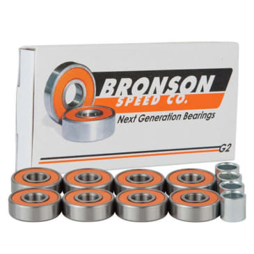 Bronson Speed Co. Bearings G2 (Pack of 8)