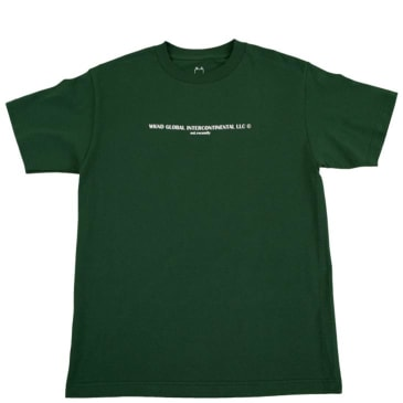 WKND Global T-Shirt - Forest Green