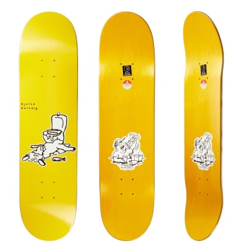 Polar Skate Co Hjalte Halberg After Work Skateboard Deck - 7.875""