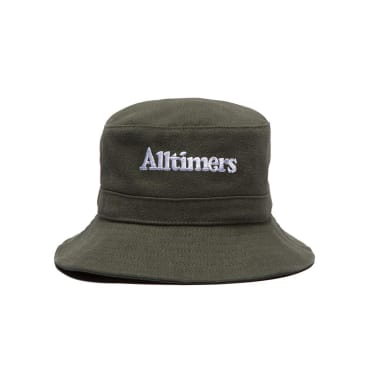 Alltimers Neighbours Fishing Bucket Hat Forest Green