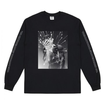 The National Skateboard Co. Cain Long Sleeve T-Shirt - Black