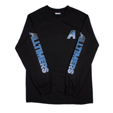 Alltimers Artists L/S Tee Black