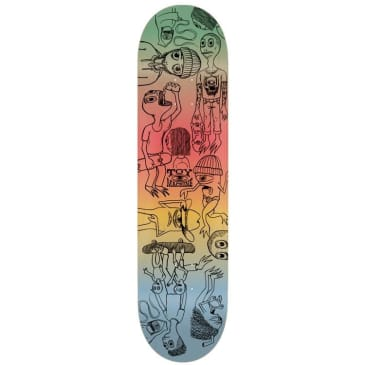 Toy Machine Characters Skateboard Deck - 7.75