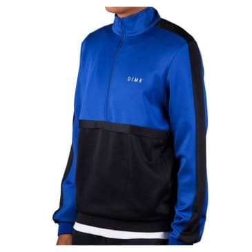 Dime Track Jacket Royal - Navy