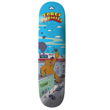 Thank You Torey Pudwill Rampage Deck 7.75 & 8.0