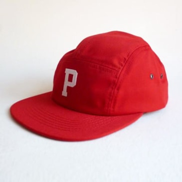 Post Hats & Details Red Team Five Panel