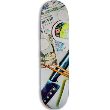 Numbers Silvas Edition 6 Series 2 Skateboard Deck - 8.3""
